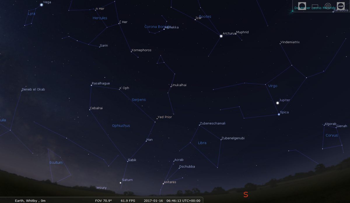planets in the sky on january first 2017 - photo #6