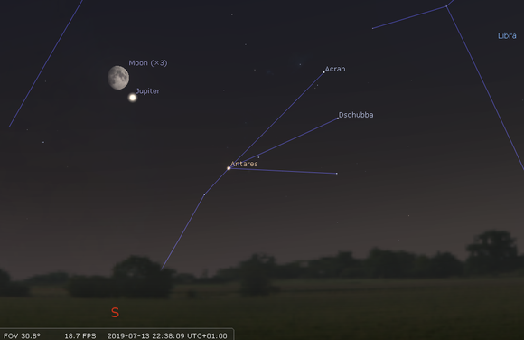 Notes On Shooting Moon >> Sky Notes July 2019 Whitby District Astronomical Society