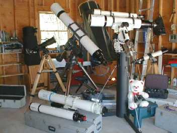Telescope Garage